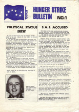 Hunger Strike Bulletin, No. 1