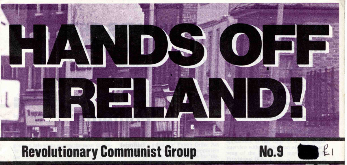 Hands Off Ireland!