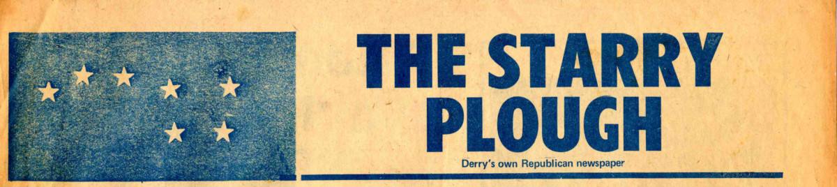 The Starry Plough [Derry]