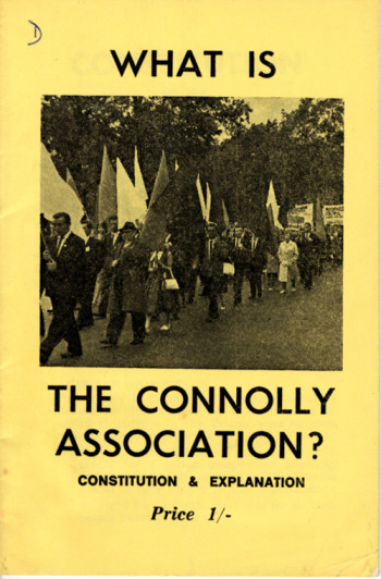 What is the Connolly Association?