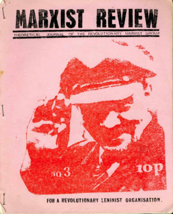 Marxist Review, No. 3
