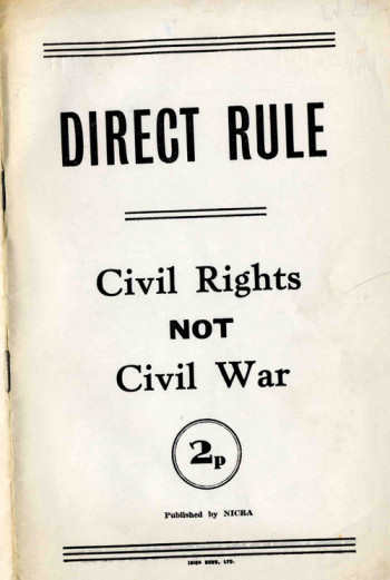 Direct Rule: Civil Rights Not Civil War