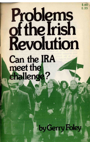 Problems of the Irish Revolution