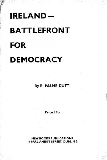 Ireland – Battlefront for Democracy