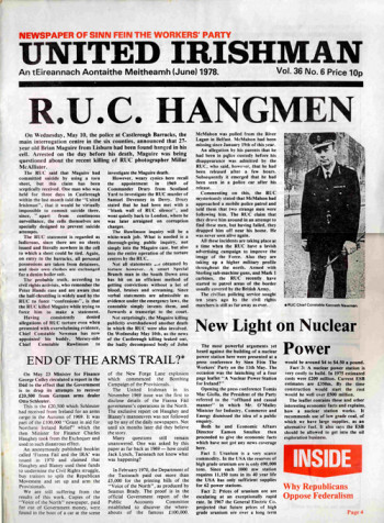 United Irishman, Vol. 36, No. 6
