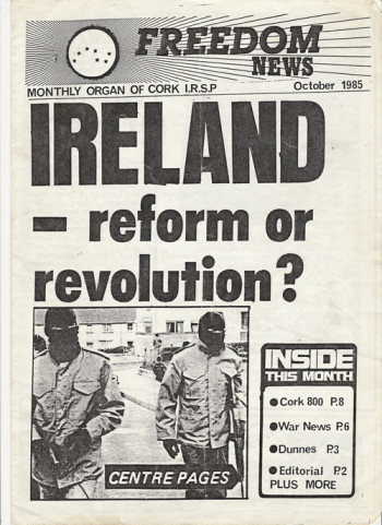 Freedom News, October 1985