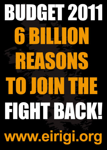 Budget 2011: 6 Billion Reasons to Join the Fight Back