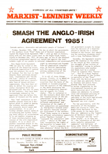 anglo irish comment Anglo-irish relations have prospered in recent decades but political  correspondent john manley hears how the fallout from brexit could turn.