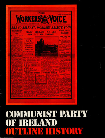 Communist Party of Ireland: Outline History