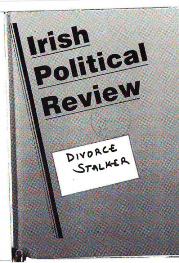 Irish Political Review, No. 1
