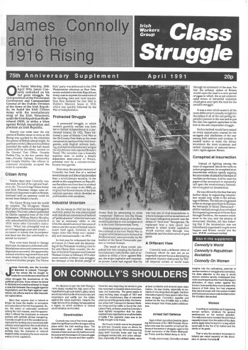 James Connolly and the 1916 Rising