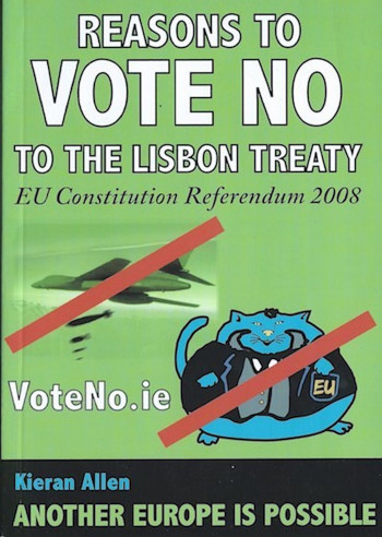 Reasons to Vote No to the Lisbon Treaty