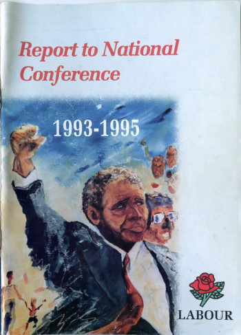 Report to National Conference, 1993-1995