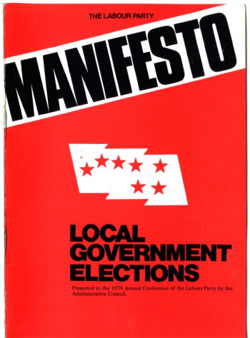 Manifesto, Local Government Elections