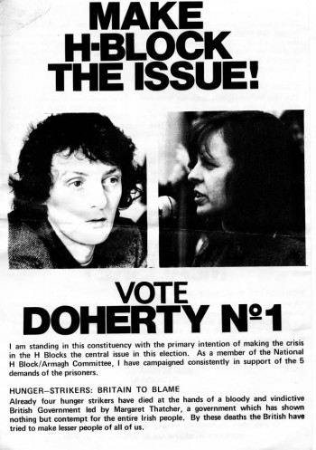 Make H-Block the Issue! Vote Doherty No. 1