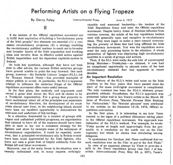 Performing Artists on a Flying Trapeze