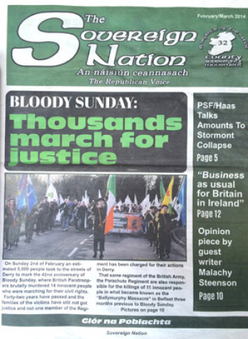 The Sovereign Nation, February/March 2014