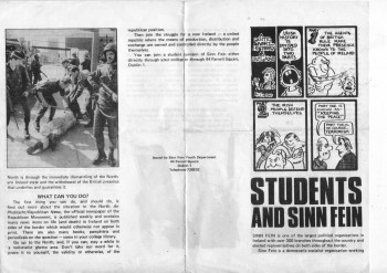 Students and Sinn Féin