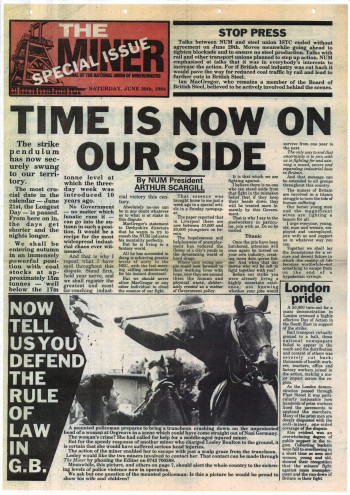 The Miner: Special Issue, June 30th, 1984
