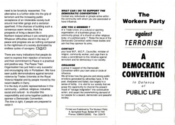 The Workers' Party against Terrorism