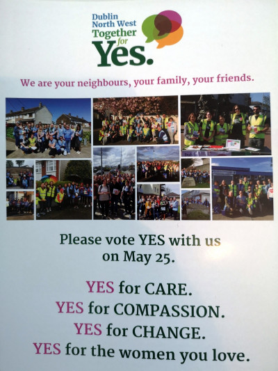 Please Vote YES With Us on May 25 [Leaflet]