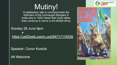 Mutiny! [Public Meeting]