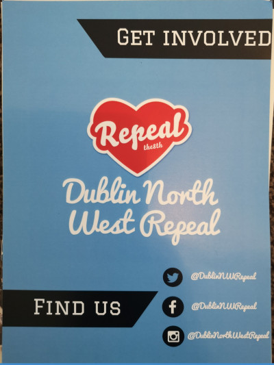 Repeal the Eighth - Dublin North West Repeal [Leaflet]