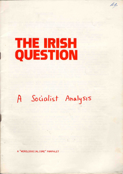 The Irish Question: A Socialist Analysis