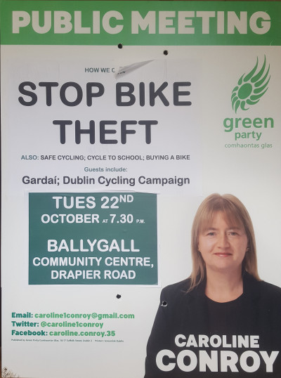 Public Meeting: How We Can Stop Bike Theft