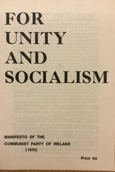 For Unity and Socialism - Communist Party of Ireland | Irish