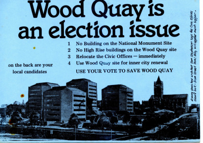 Wood Quay is an Election Issue [Leaflet]