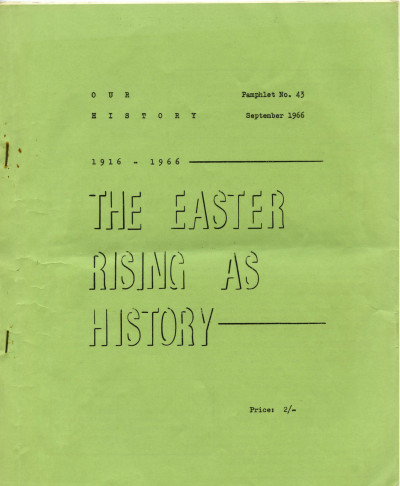 The Easter Rising As History