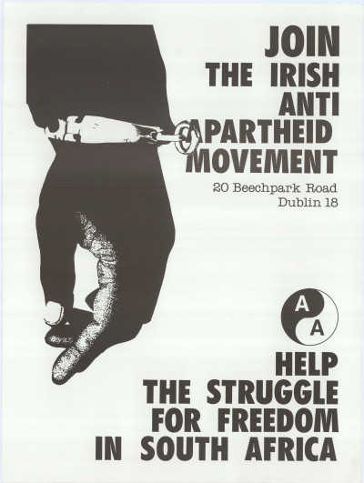 Join the Irish Anti-Apartheid Movement