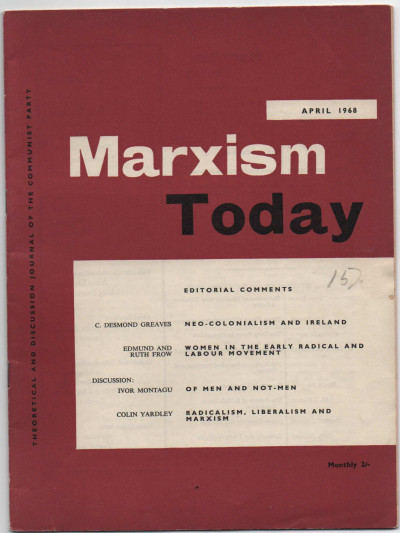 Marxism Today, Vol. 12, No. 4