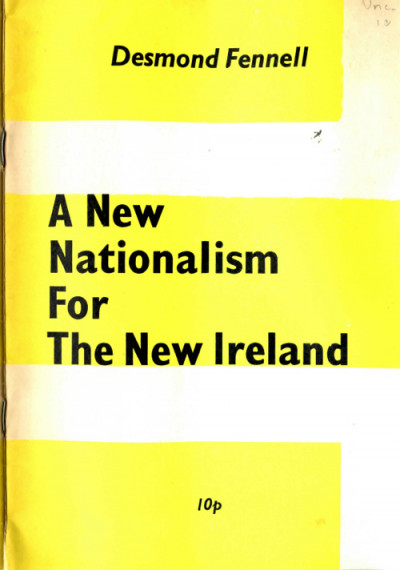 A New Nationalism for the New Ireland