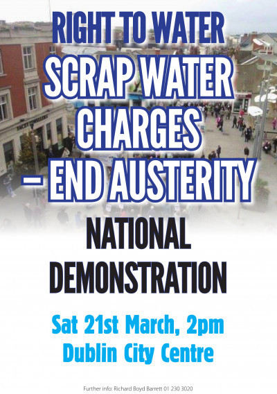 Right to Water: Scrap Water Charges - End Austerity