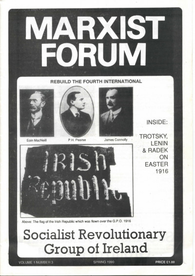 Marxist Forum, Vol. 1, No. 3
