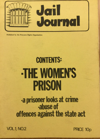 Jail Journal, Vol. 1, No. 2