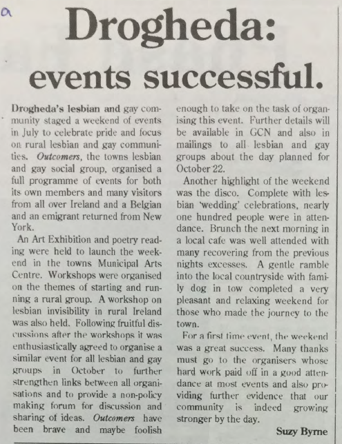 GCN Article:  Drogheda Events Successful
