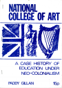 National College of Art: A Case History of Education under Neo-Colonialism
