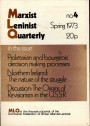 Marxist Leninist Quarterly, No. 4