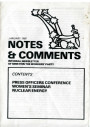 Notes and Comments, January 1980
