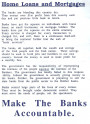 Make the Banks Accountable (Leaflet)