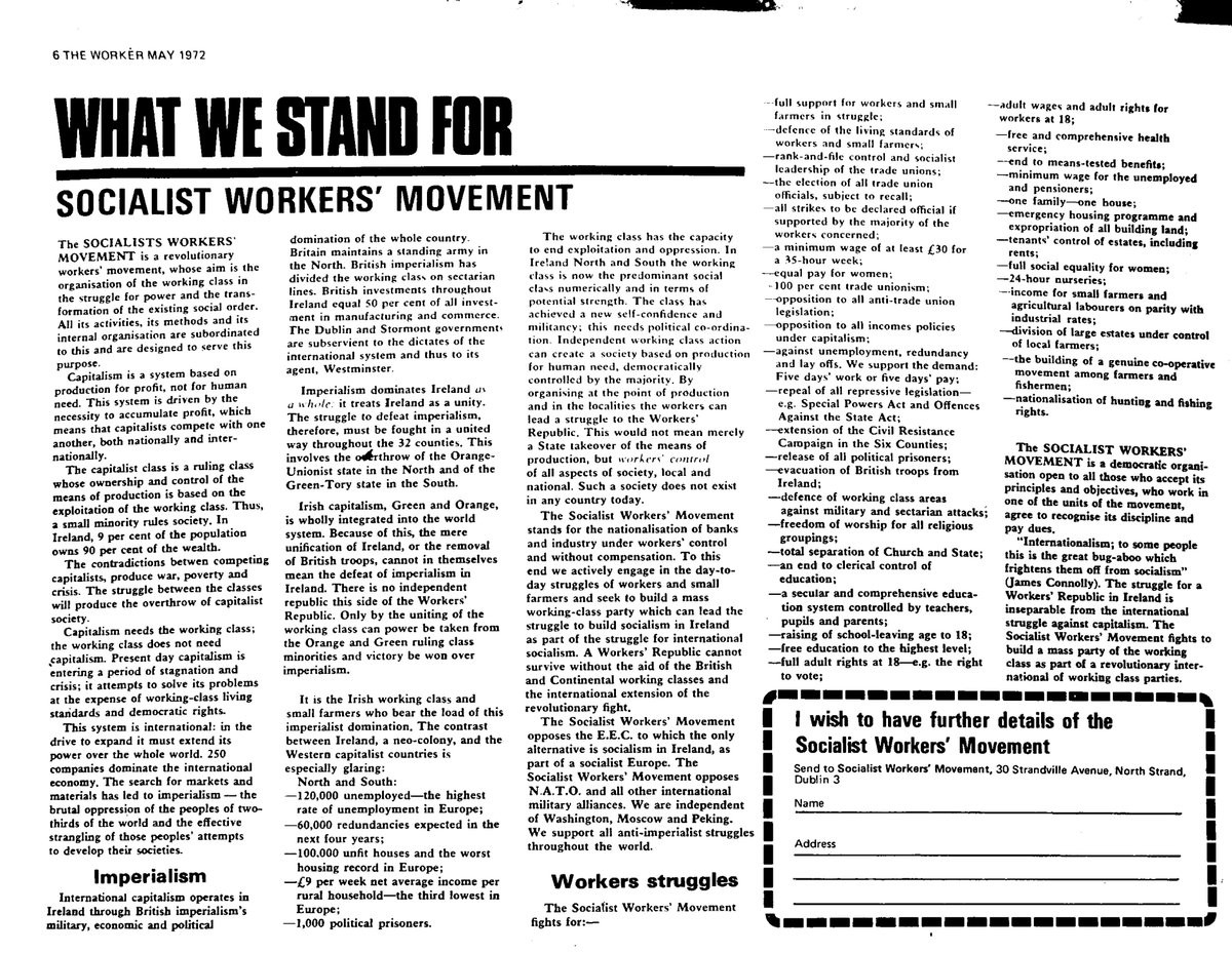 SWM - What we stand for
